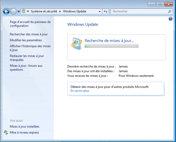 windows-7-windows-update-ne-trouve-pas-de-mises-à-jour